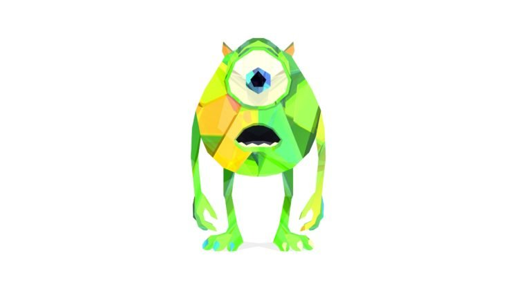 monsters inc justin maller facets mike wazowski hd wallpapers