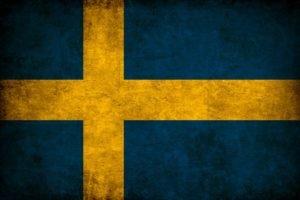 Swedish, Flag, Sweden