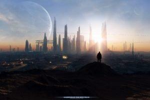 city, Futuristic