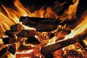 fire, Wood