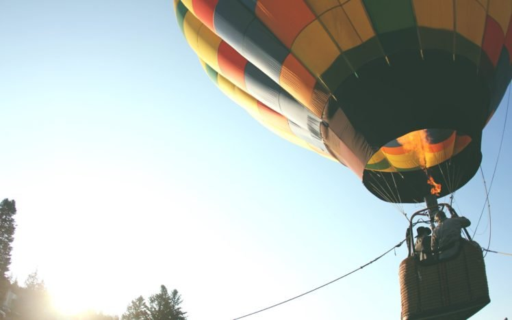 hot air balloons, Flying HD Wallpaper Desktop Background