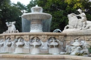 Munich, Germany, Fountain
