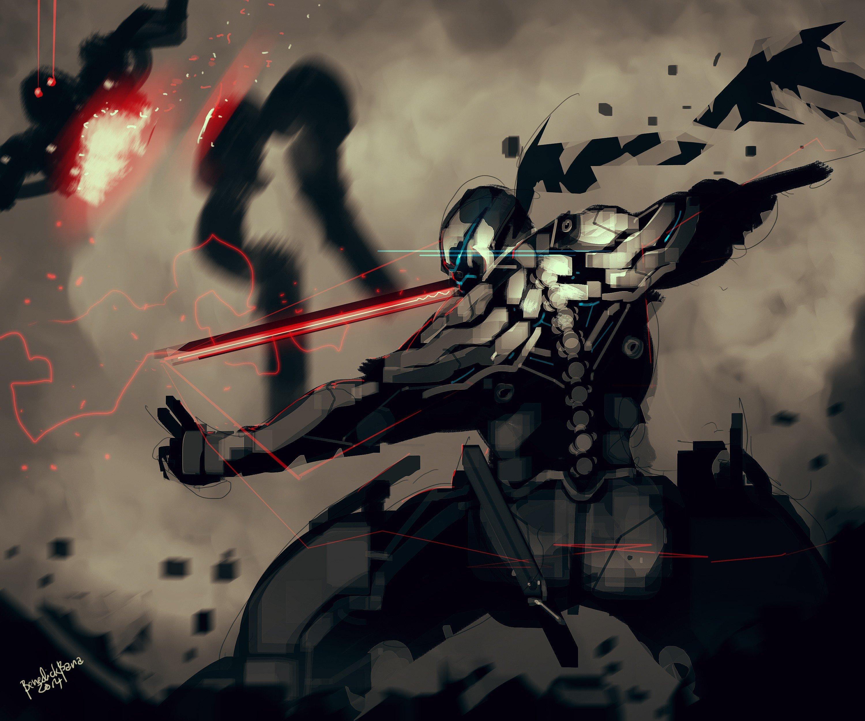 ninjas red sword robot assassins hd wallpapers