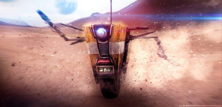 anime, Realistic, Claptrap, Borderlands, Clap Trap HD Wallpaper Desktop Background