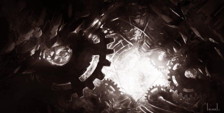blee d (Bryan), Gears, Hell HD Wallpaper Desktop Background