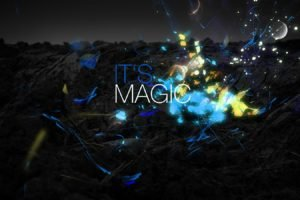magic, Sparks, Sparkles, Blue