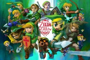 Zelda, The Legend of Zelda