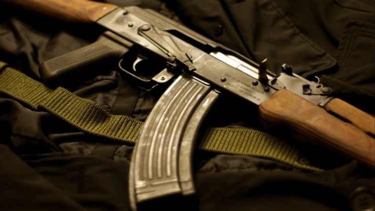 Kalashnikov Gun AK 47 Weapon HD Wallpaper Desktop Background