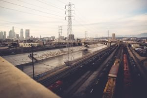 city, Train, Railway