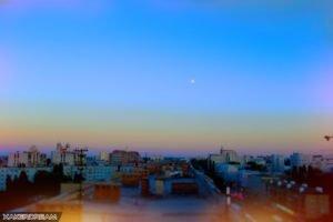 city, Architecture, Horizon, Sunrise