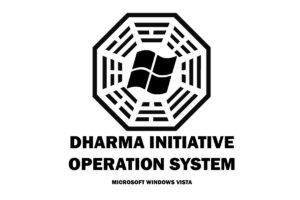 Lost, Dharma Initiative, Microsoft Windows
