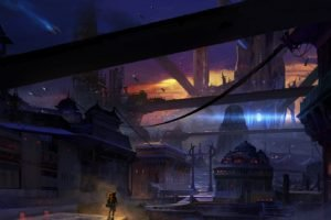 Dune (series), Finnian MacManus, Cityscape