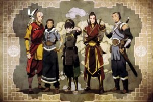 Avatar: The Last Airbender, Aang, Toph Beifong, Sokka