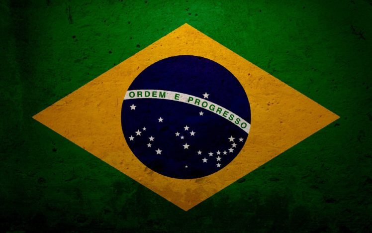 Brazil, Flag HD Wallpaper Desktop Background