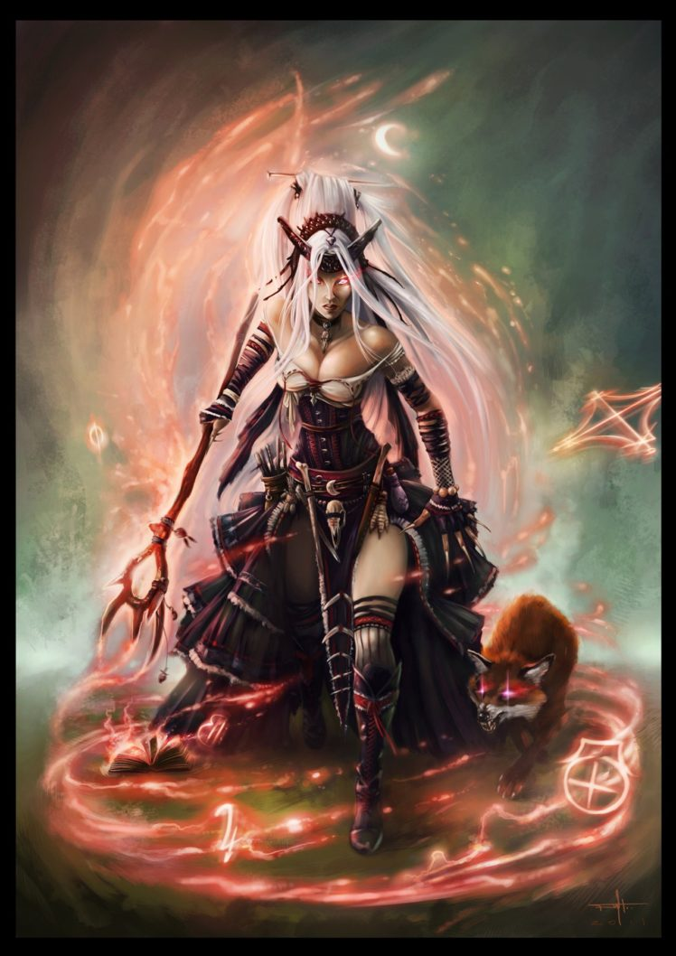 Pathfinder witch realistic fox hd wallpapers desktop and mobile images photos - Realistic wallpaper hd ...