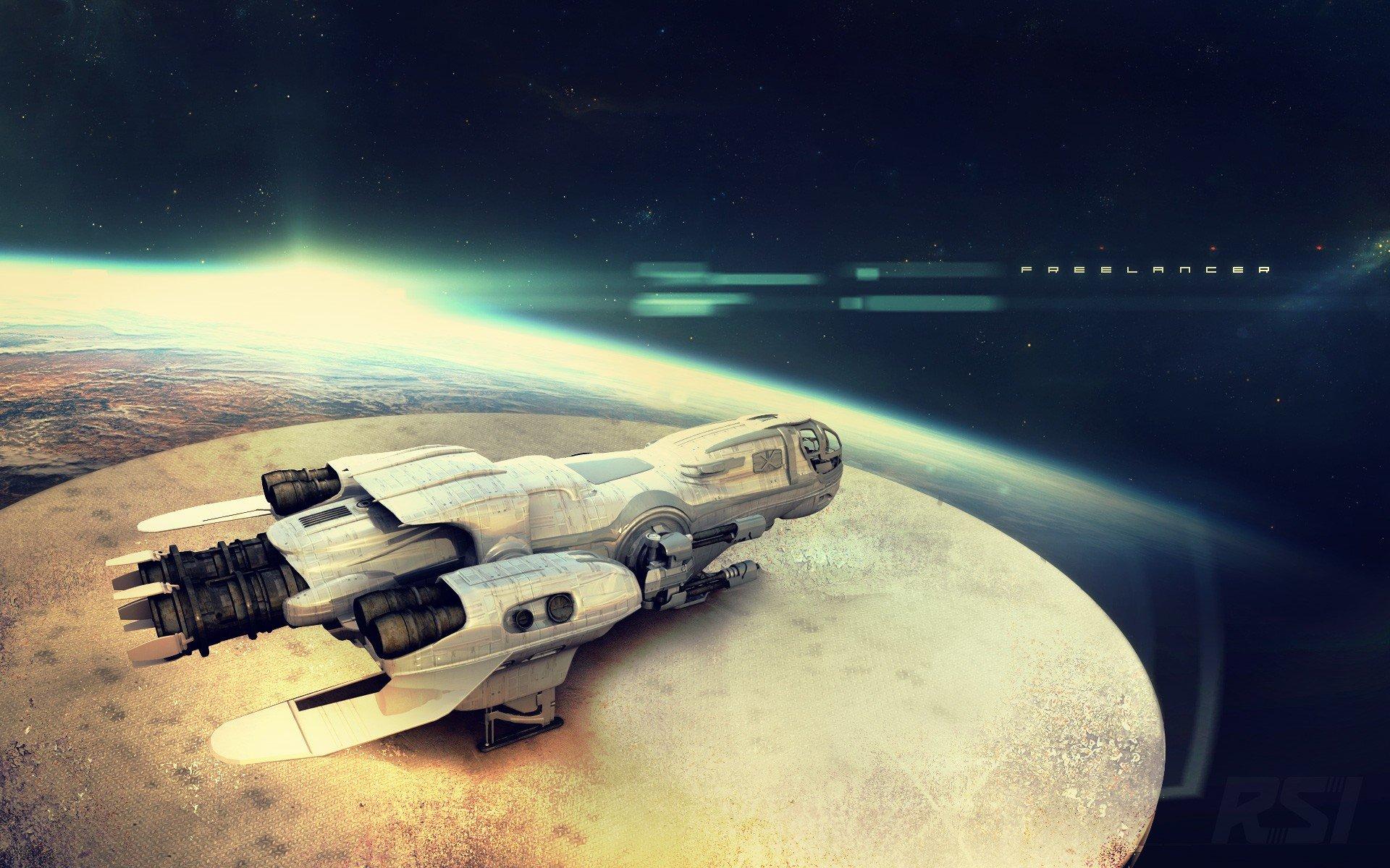 Star Citizen, Freelancer (Star Citizen), Spaceship HD