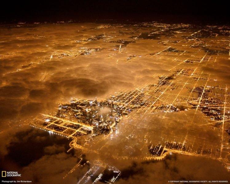 night, Stars, City, Cityscape HD Wallpaper Desktop Background