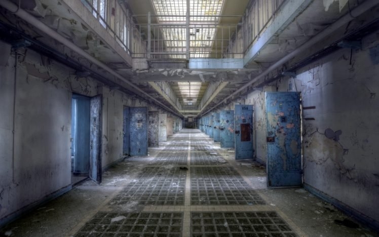 prisons, Abandoned HD Wallpaper Desktop Background
