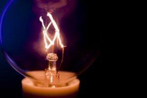 macro, Light bulb