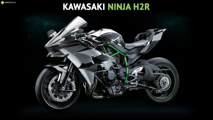 Kawasaki Ninja H2R HD Wallpaper Desktop Background