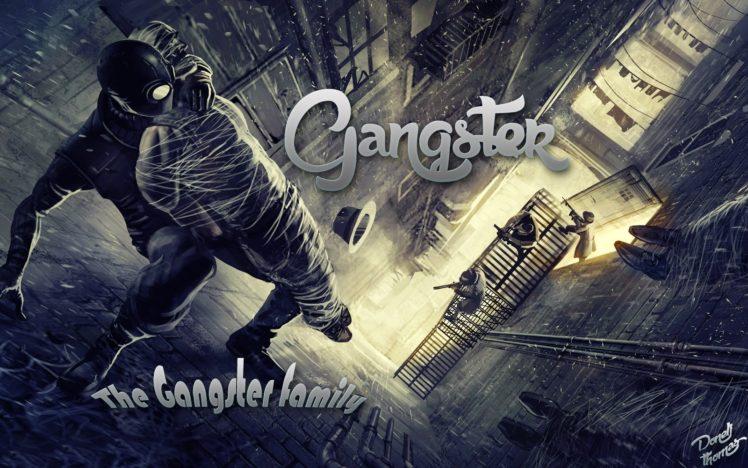 Gangster, American Gangster, Spider Man, Noir HD Wallpaper Desktop Background