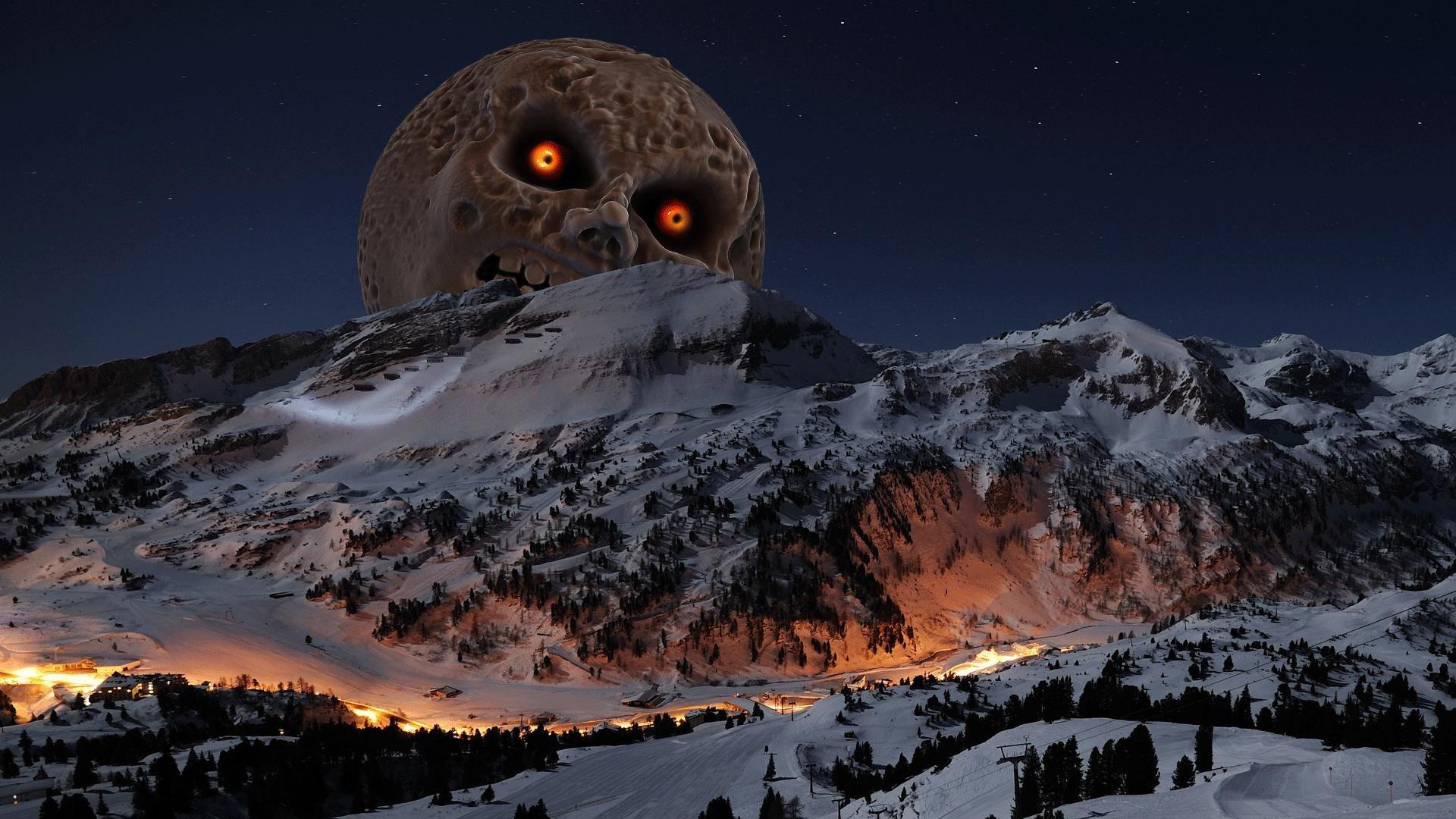 The Legend Of Zelda Moon Mountain The Legend Of Zelda Majoras