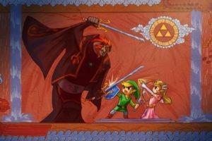The Legend of Zelda, Link, Zelda, Triforce