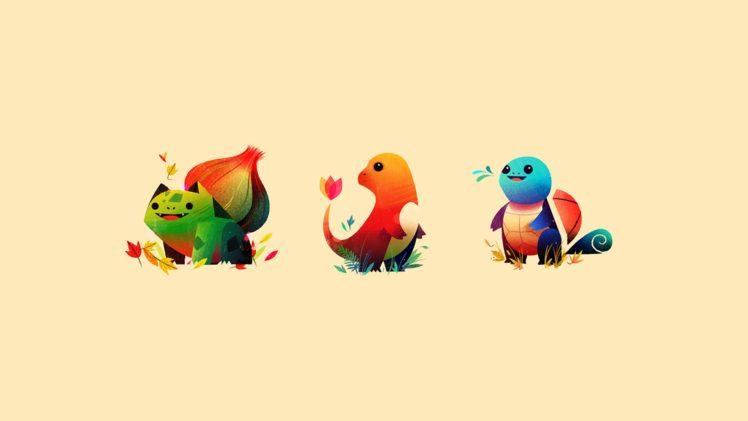 Pokemon, Minimalism HD Wallpaper Desktop Background