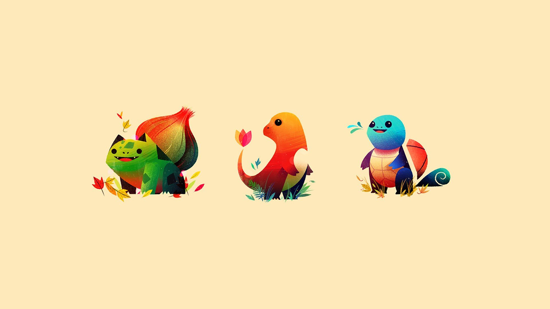 Pokemon, Minimalism HD Wallpapers / Desktop And Mobile