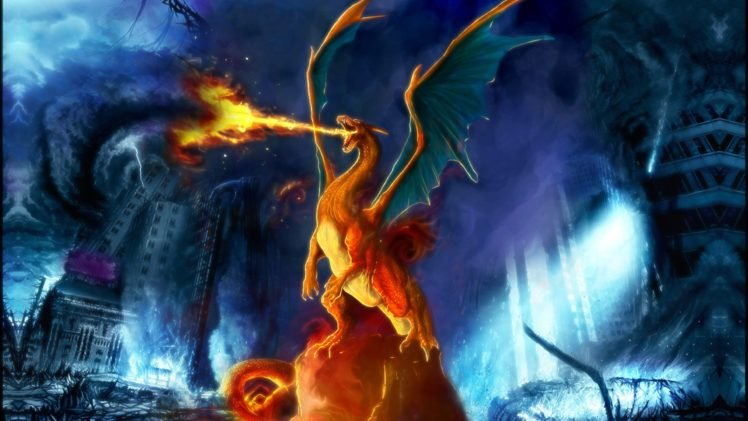Pokemon Charizard HD Wallpaper Desktop Background