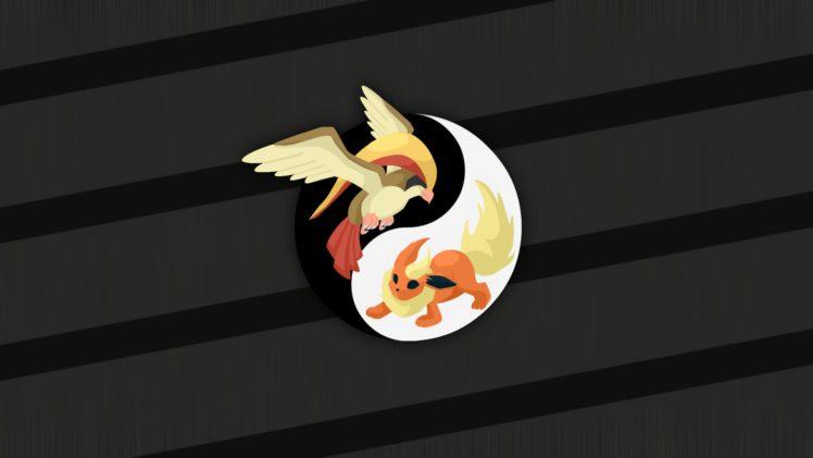 Pokemon, Yin and Yang HD Wallpaper Desktop Background