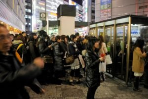 Japan, Earthquakes, Crowds