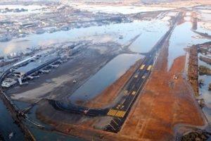 Japan, Earthquakes, Airport, Flood, Destruction