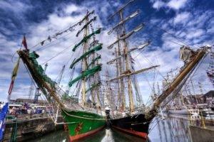 HDR, Ship, Boat