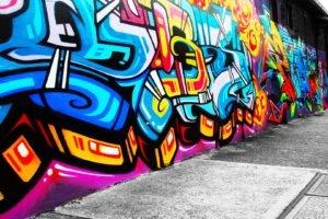 graffiti, Street art