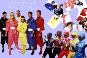 ninjas, Power Rangers