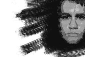 face, Monochrome