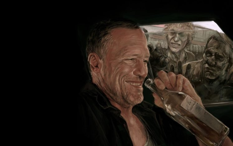 Merle Dixon The Walking Dead Hd Wallpapers Desktop And