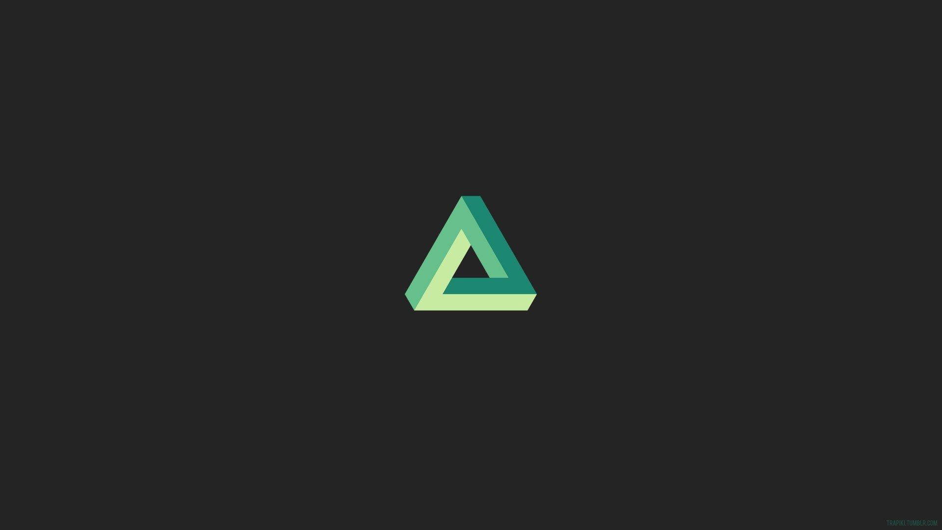 Penrose triangle, Triangle, Minimalism, Gray HD Wallpapers ...