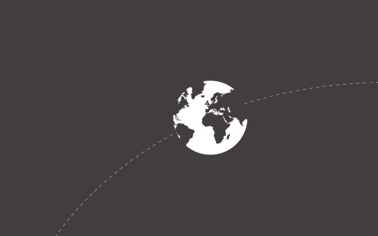 minimalism, Earth, Gray HD Wallpaper Desktop Background