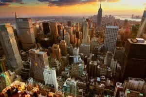 cityscape, USA, Empire State Building, New York City