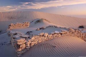 desert, Ruin
