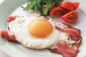 eggs, Bacon, Breakfast, Food
