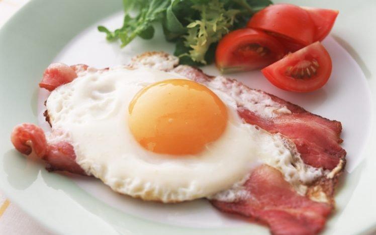 eggs, Bacon, Breakfast, Food HD Wallpaper Desktop Background