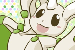 terriermon, Digimon Adventure, Imalune, Polka dots