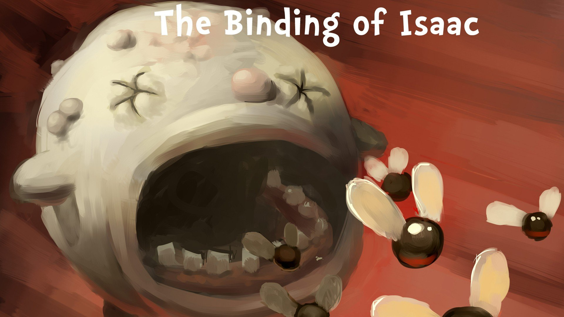 Binding Of Isaac Duke Of Flies Flies Hd Wallpapers Desktop And