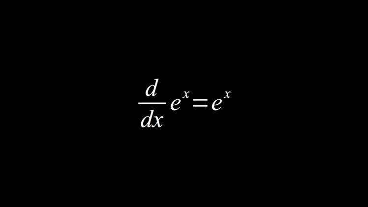 Mathematics Equation Black Derivative HD Wallpaper Desktop Background