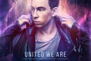 United We Are (album cover), Hardwell, Robbert van de Corput, DJ, Music, United We Are, Revealed Recordings