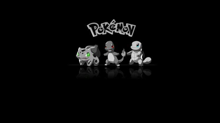 Pokemon Charmander Bulbasaur Squirtle HD Wallpaper Desktop Background