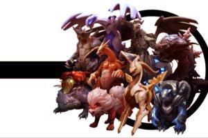 Pokemon, Lugia, Venasaur, Arceus, Zekrom, Arcanine, Charizard, Nidoking, Blastoise, Gyarados